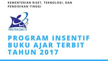 PROGRAM INSENTIF BUKU AJAR