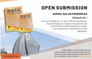 Open Submission Jurnal Nalar Pendidikan 2020